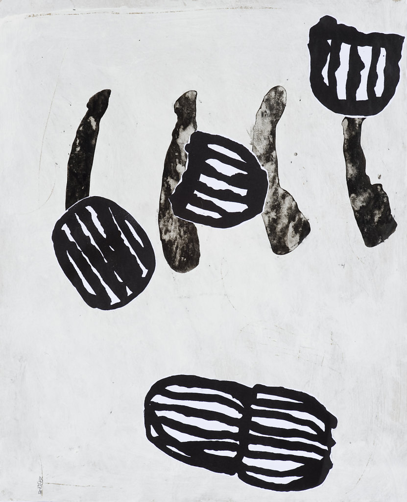 Technique mixte/papier daté 2008 49x40 cm