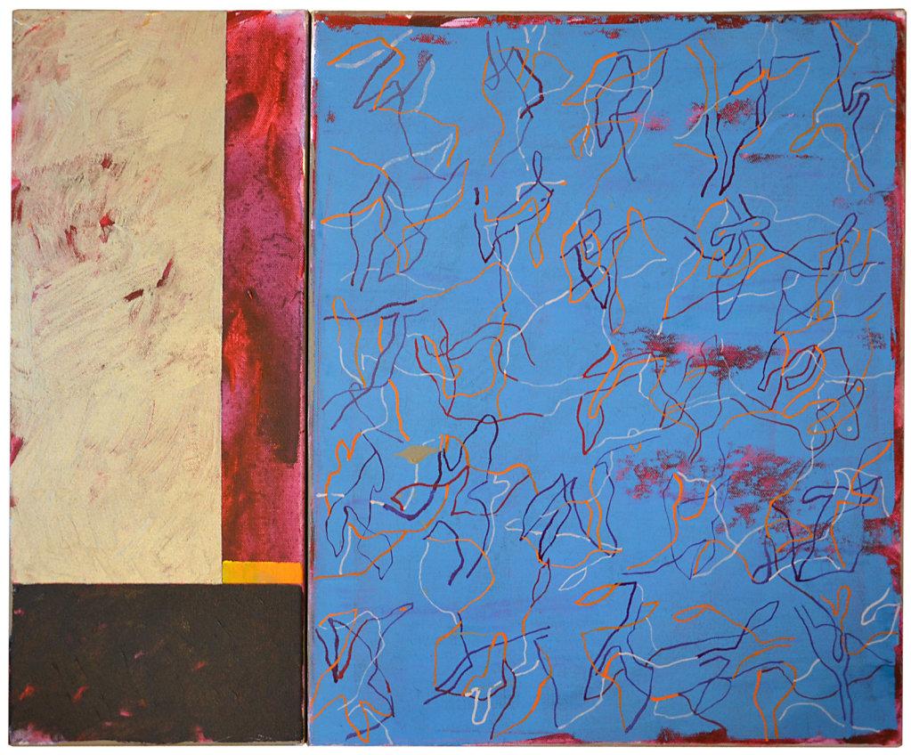 2016 - Acrylique et huile/toile - 50x60cm