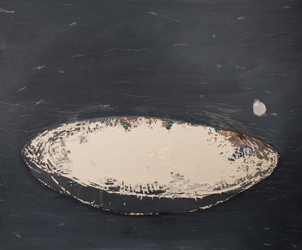 Acrylique sur carton, 2017, 100 x 120 cm.