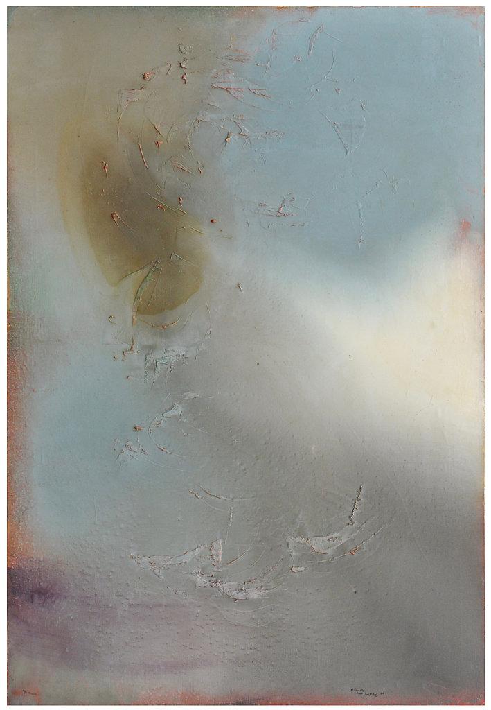 Huile sur toile 130x89 cm signé, daté 1960