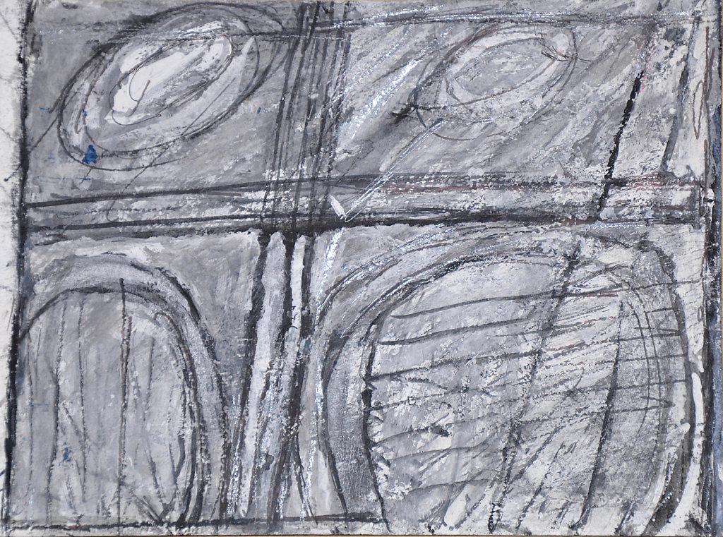Encre, caséine et gouache sur papier 23x31cm 2010